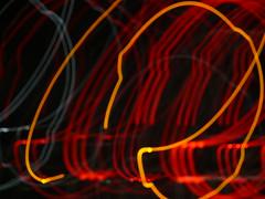 Where We Stop, Nobody Knows (BKHagar *Kim*) Tags: blue light red orange abstract paintingwithlight fz50 panasoniclumix bkhagar