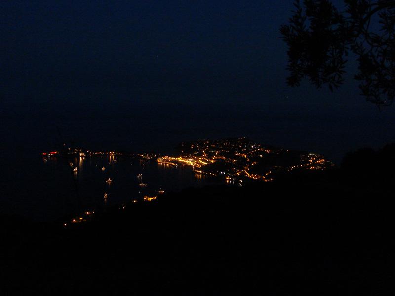 Cap Ferrat at Night
