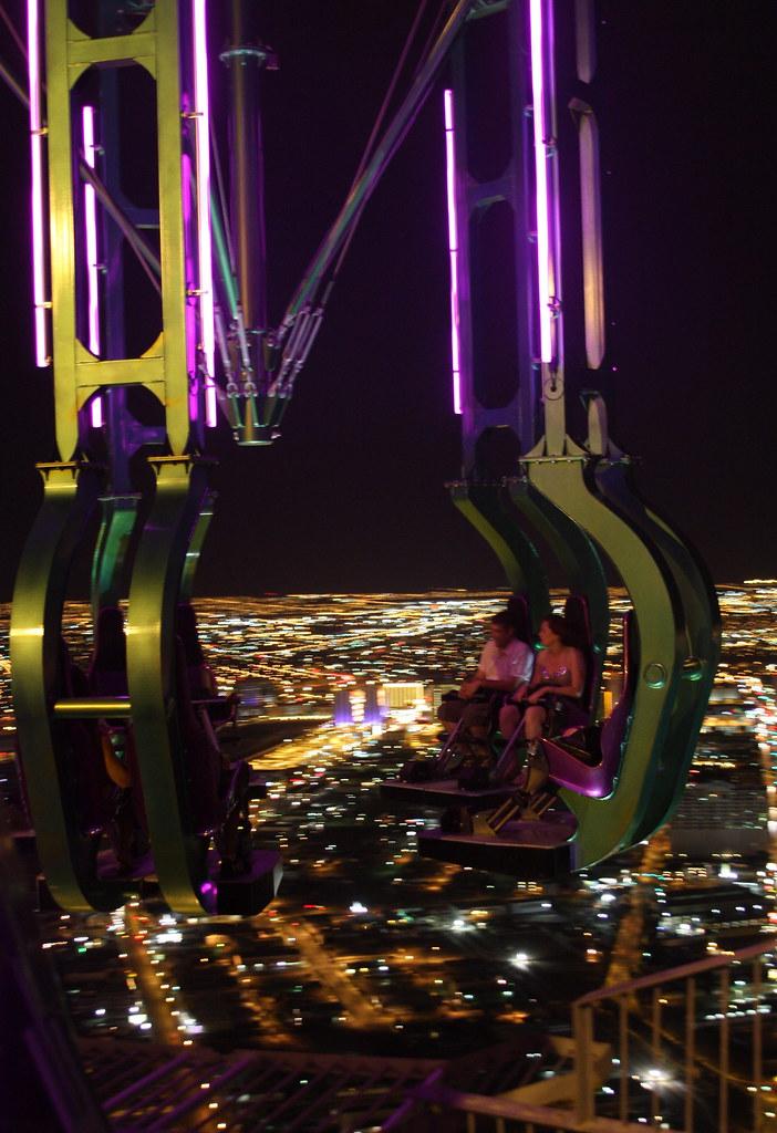 Over the Vegas Lights