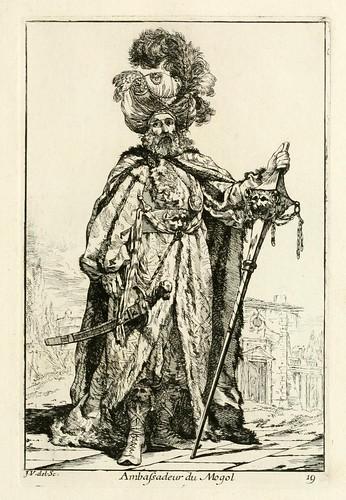 016- Embajador Mogol-Caravanne du sultan ala Mecque…1748- Joseph Vien