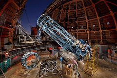 "60"" Mount Wilson TElescope: Vision (Eric Curry) Tags: new old nightphotography light lightpainting building men art industry beautiful museum modern night digital america canon vintage painting stars photography star big amazing eric exposure photographer masculine volunteers rustic parties guys pride curry retro mount telescope american passion paintingwithlight restored and wilson multiple americana restoration astronomy unusual trick charming telescopes technique making normanrockwell astronomical scientific exposures timeexposures pwl fabrication trickphoto ericcurry"
