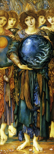 BURNE-Jones, Edward  Days of Creation (Fifth) 1870-1876