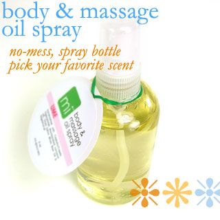 NEW! Body & Massage Oil Spray!!