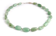 Green stone necklace (net_efekt) Tags: charity green beautiful beauty shop stone glitter glamour pretty creative craft jewelry vert jewellery grn gruen schmuck artisan oxfam kette necklance