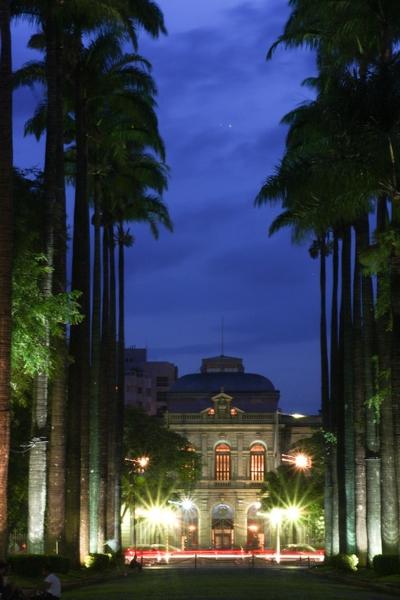 Praça da Liberdade noturna 2