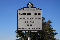 Plymouth Rock Marker
