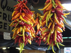 Pretty peppers (vitalbeing) Tags: seattle wa pikeplacemarket publicmarket