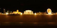 Augustusplatz (maxelmann) Tags: panorama germany stitch 21 pano 360 leipzig augustusplatz fisheye 8mm 360x180 riesenrad oper nn 360 langzeitbelichtung uniriese gewandhaus longtimeexposure ptgui equirectangular pelengpeleng nodalninja5 maxelmann paulinumbeinacht
