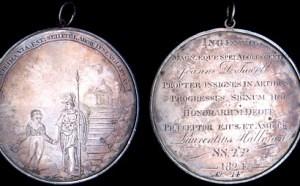 1824 Halloran School Prize Medal
