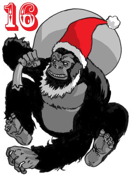 Gorilla Santa