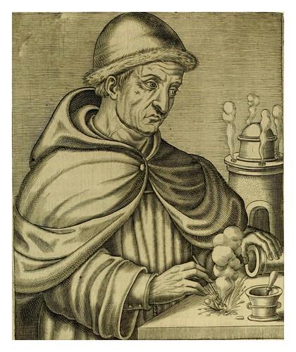 015-Berthold Shwartz-Les vrais pourtraits et vies des hommes illustres grecz, latins et payens 1584-André Thevet