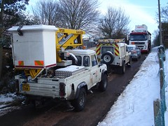 EDF Electricity start work (ambo333) Tags: uk england snow ice frozen frost beds bedfordshire gas generator freeze electricity caddington britishgas nationalgrid aggreko lu1 edfenergy snowuk uksnow caddingtonvillage caddingtongassupply caddingtongas frozenbritain