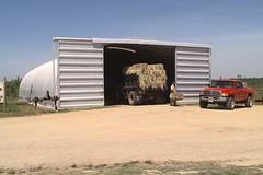 SteelMaster Steel Hay Storage