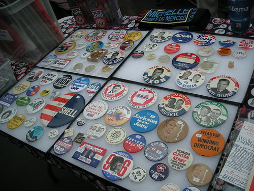 Classic campaign buttons