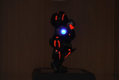 Samus Phazon suit (flan_man_74) Tags: prime led suit figure metroid samus jfigure phazon