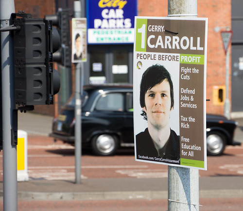Belfast City - Election Poster For People Before Profit