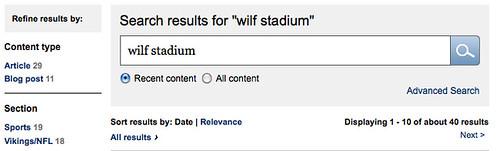 Zygi Wilf Stadium Mentions