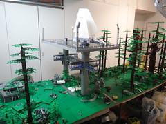 WIP Endor (brickplumber) Tags: lego endor starwarslego fbtb lilelites