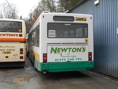Newton's (Newbridge) N620 FJO (Welsh Bus 18) Tags: newtons volvo b10b58 plaxton verde n620fjo newbridge oxfordbuscompany 620
