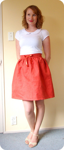 Pumpkin Puff Skirt
