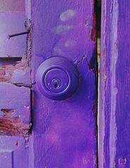 door wall paint purple lock decay nail colorphotoaward superaplus aplusphoto colourartaward 100commentgroup