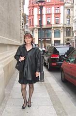 Innenstadt (Marie-Christine.TV) Tags: beauty lady tv outdoor feminine cd femme leipzig tgirl wig transvestite elegant frau crossdresser feminin schn mariechristine tgurl femmeside