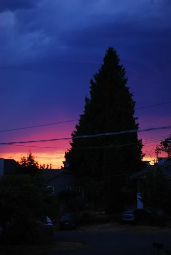 sunset on phinney