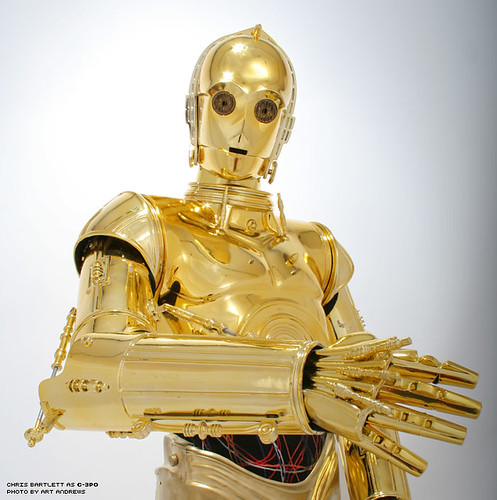 how to make c3po costume