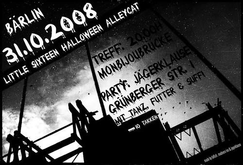 Halloween Alleycat Berlin