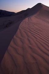 Kelso Dunes (Nick Carver Photography) Tags: california sunset usa texture nature vertical season landscape outdoors landscapes spring twilight sand rocks desert time patterns country textures names southerncalifornia sanddune orientation sanddunes mojavedesert regions citystate mojavenationalpreserve kelsosanddunes natureparks photospecs stockcategories ncpfineartprint geographicfeatures locationssubjects