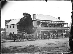 John Champions Tattersalls Hotel, Greta, NSW, 19 April [1893] (Cultural Collections, University of Newcastle) Tags: hotel pub champion australia nsw greta 1893 johnchampion tattersallshotel ralphsnowball snowballcollection ralphsnowballcollection asgn0656b28 newcastleregionnswhistorypictorialworks hotelsnewsouthwales photographynewsouthwalesnewcastle