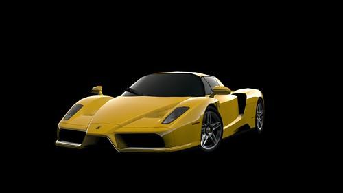 GT PSP - Ferrari Enzo Ferrari '02 SpecialColor A front