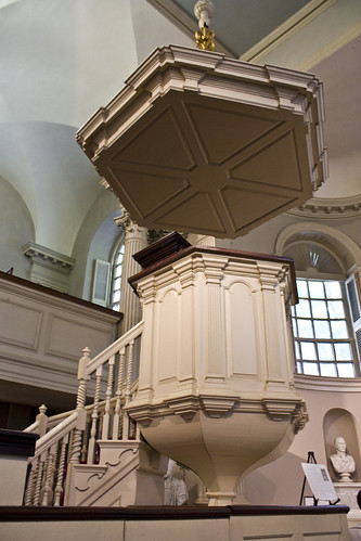 Pulpit at Kings Chapel