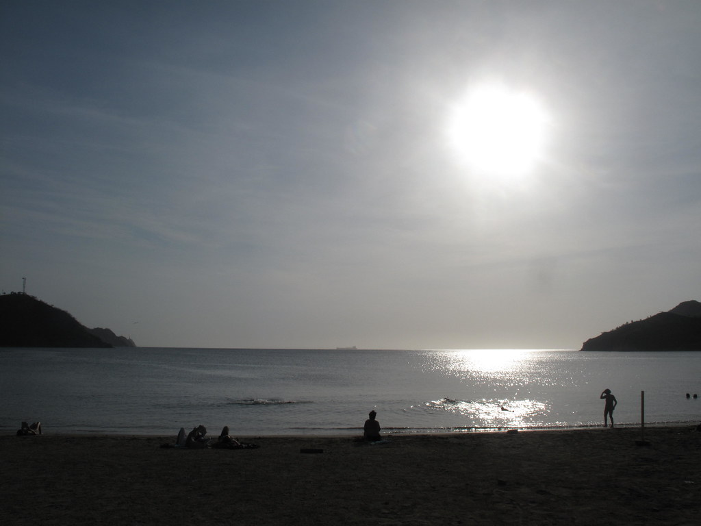 Beach at Taganga.