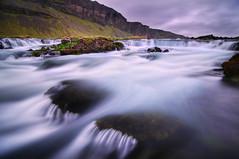 Roadside River - Icelandic Style (Corica) Tags: longexposure sky cloud water landscape waterfall iceland nikon rocks tokina foss d300 corica