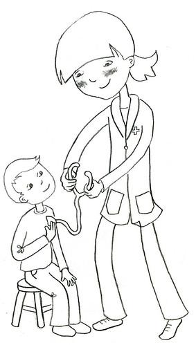 doctor sketch