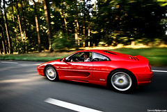 F355. (Denniske) Tags: red motion holland netherlands speed canon rouge eos movement ride angle action wide nederland sigma 15 august f1 ferrari 09 barbecue mm nl dennis panning 1020 rood rosso 15th 2009 coupe 08 arie the noten 355 berlinetta f456 röt 400d cartocar denniske dennisnotencom wwwdennisnotencom bmjtcrew bmjtevents bmjt