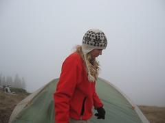 Silver Ridge campsite