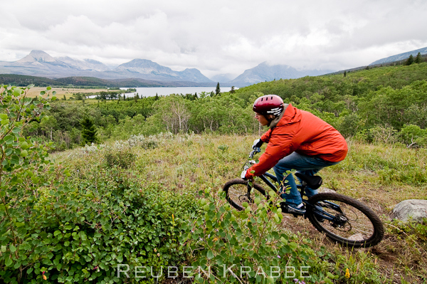 Self Portrait MTB -Glacier National Park 1