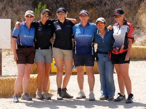 Left to Right: Julie Golob, Jessie Abbate, Randi Rogers, Kay Miculek, Janae Sarabia
