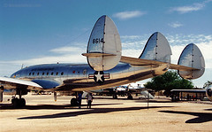 Triple Tail (Ken's Aviation) Tags: tucson pima lockheed constellation airmuseum c121 airzona 480614