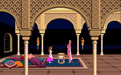 prince of persia Jaffar y princesa