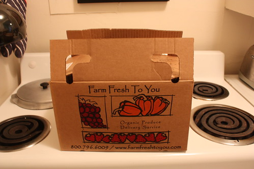 Farm Fresh to You - 1st Delivery! (just the box)