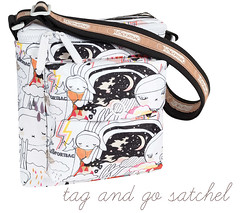 win me! (*FIFI-LAPIN*) Tags: sky diamonds bag print with competition postcards prize fifi satchel lapin lesportsac fifilapin