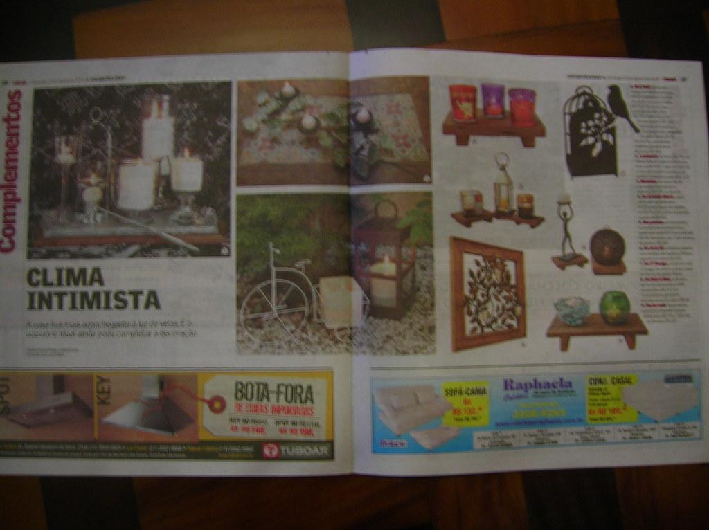 Caderno Casa& - Estadão 23/08/09