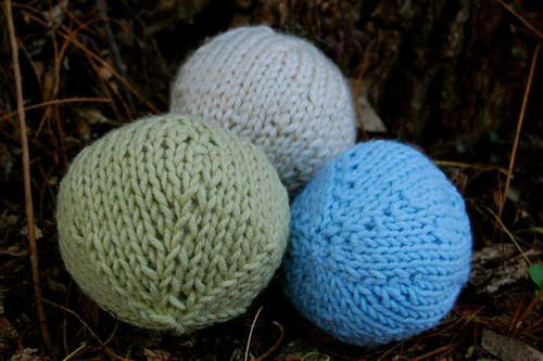 knitted balls