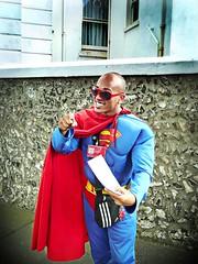 superman (buckaroo kid) Tags: portrait seaside with superman superhero eastbourne superheroes a hrefhttpwwwpixsycomprotected pixsya