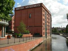 Nottingham British Waterways building (brihar bathcity) Tags: nottingham england canal redbrick britishwaterways brihar