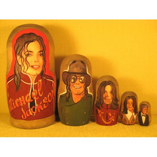 MJ Russian Nesting Dolls