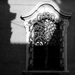 out of the black (montel7) Tags: shadow bw window iron ombra bn finestra ferro mywinners